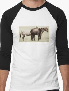 Pasture Pals Men's Baseball ¾ T-Shirt