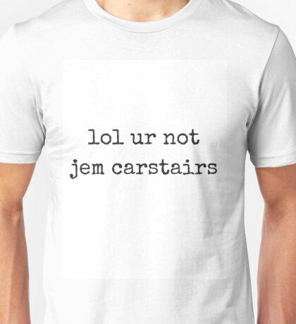 jem carstairs Unisex T-Shirt
