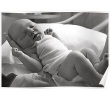 Xavier newborn Poster