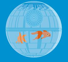 Death Star Fishbowl by Kannaya