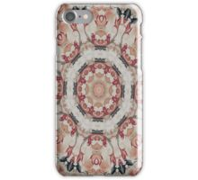 Ornate red iPhone Case/Skin