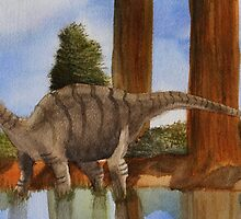 Dinosaur Reflections by PoizenThorn