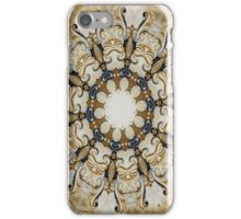 Ornate Golden Yellow iPhone Case/Skin