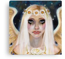 Spirited Away - Angel with a daisy crown Canvas Print