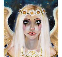 Spirited Away - Angel with a daisy crown Photographic Print