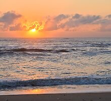 October Sunrise by Sandy Woolard