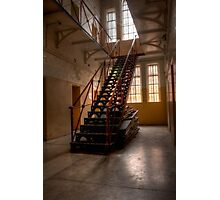 0965 The Gaol Staircase Photographic Print