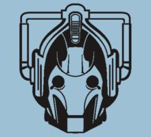 Cyberman (black) One Piece - Short Sleeve