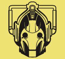 Cyberman (black) Baby Tee