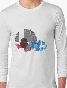 Ryu (Kirby Hat) - Sunset Shores Long Sleeve T-Shirt