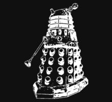 Dalek (white) by xSadiax
