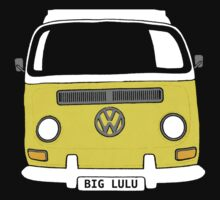 Big Lulu Kombi Shirt by melodyart
