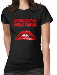 Rocky Horror - Science Fiction/Double Feature Womens Fitted T-Shirt