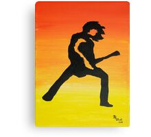 Rock Off Nr3 Canvas Print