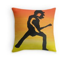 Rock Off Nr3 Throw Pillow
