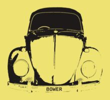 VW Beetle Shirt - Black BOWER Personalised by melodyart