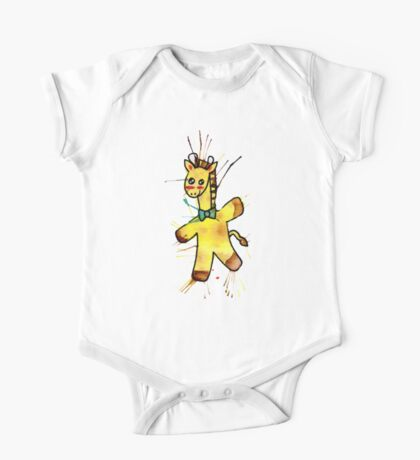 Cute Baby Giraffe One Piece - Short Sleeve