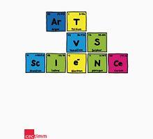 Geek Chic Range: Art Vs Science (Elementary) Unisex T-Shirt