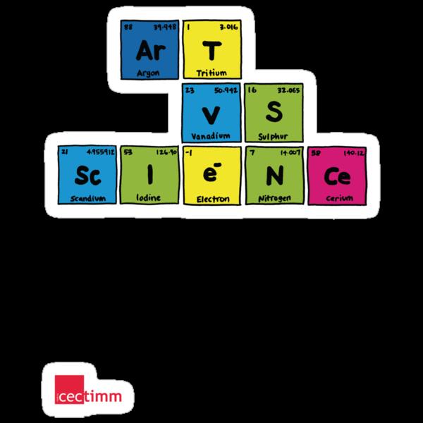 Geek Chic Range: Art Vs Science (Elementary) by cectimm