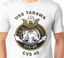 USS Tarawa (CV/CVA/CVS-40, AVT-12) Crest Unisex T-Shirt