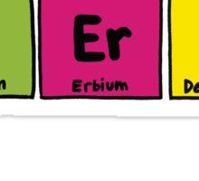 Geek Chic Range: Class Nerd (Elementary) Sticker