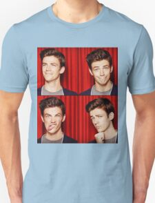 Grant Gustin Funny Faces T-Shirt