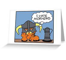 The Lasagnaborn Greeting Card