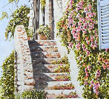 House, St Paul de Vence, France by FranEvans