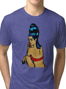 Pin Up Girl Veronica Tri-blend T-Shirt