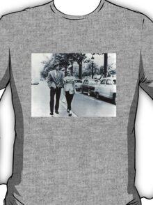 Seberg and Belmondo in Breathless Tee T-Shirt