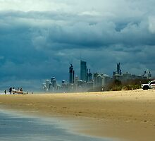 Moody Coastline. by keith55g