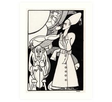 pantomime Art Print