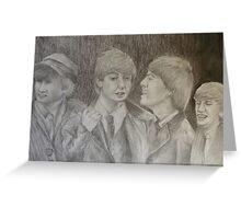 Beatles Greeting Card