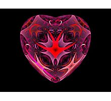 Curled Heart Photographic Print