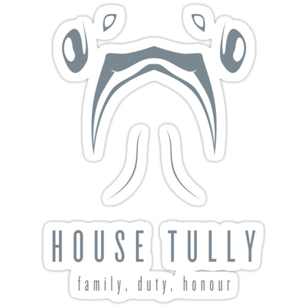 House Tully Minimalist T-Shirt by liquidsouldes