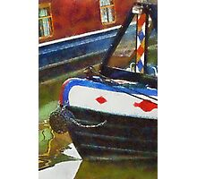 Narrow boats, Gloucester, UK Photographic Print