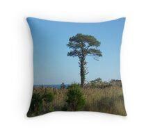 Tree By The Bay Throw Pillow