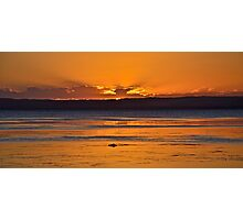 Golden Tuggerah Sunset. Photographic Print