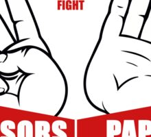 ROCK PAPER SCISSORS Sticker