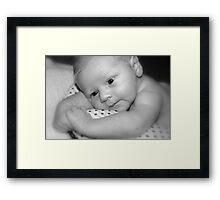 Baby George  Framed Print