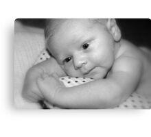 Baby George  Canvas Print