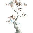 Little Zen Tree 444 by Sean Seal