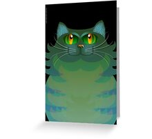 SALLY CAT Greeting Card