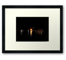 Galveston, TX from Fisherman's Wharf on the Strand Framed Print