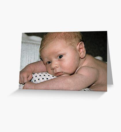 Baby George 2  Greeting Card
