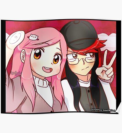 Cute Selfie Poster