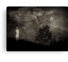 The Watcher in the Woods Canvas Print