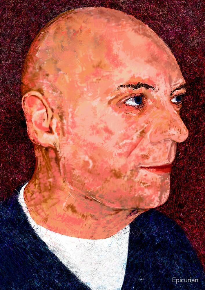 Portrait of a Bald Man by Epicurian