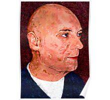 Portrait of a Bald Man Poster
