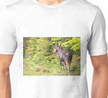 Bull Moose in Maine Unisex T-Shirt
